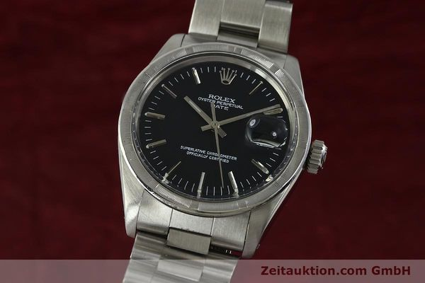 Used luxury watch Rolex Date steel automatic Kal. 1570 Ref. 1501  | 151058 04
