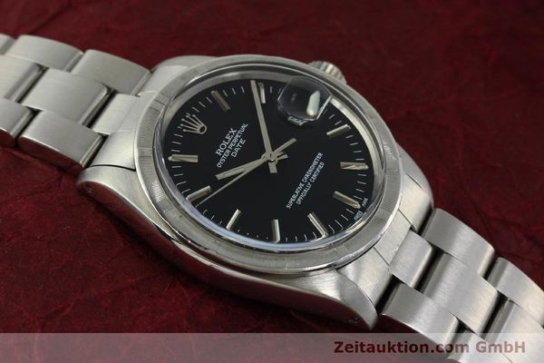Used luxury watch Rolex Date steel automatic Kal. 1570 Ref. 1501  | 151058 14