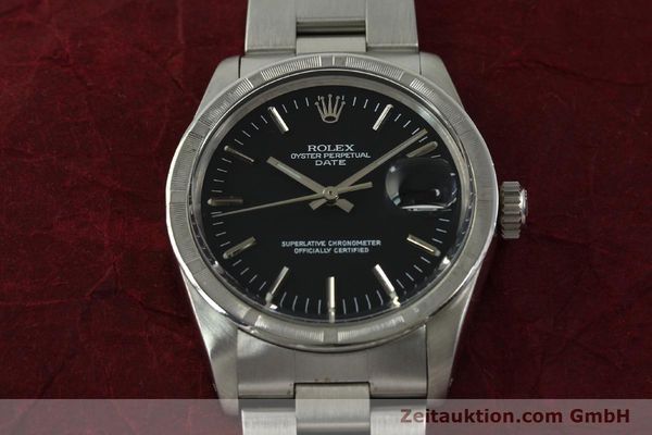 Used luxury watch Rolex Date steel automatic Kal. 1570 Ref. 1501  | 151058 15