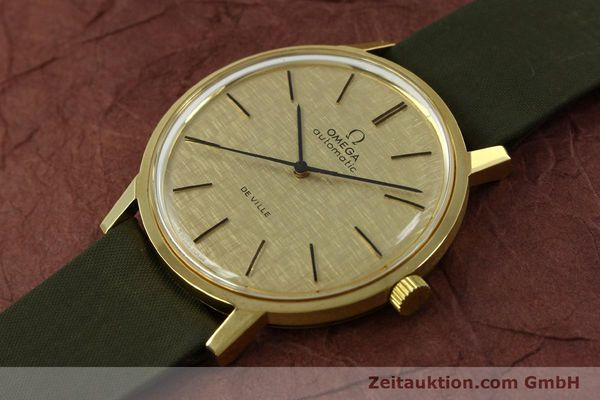 Used luxury watch Omega De Ville 18 ct gold automatic Kal. 711 Ref. 165.008  | 151061 01