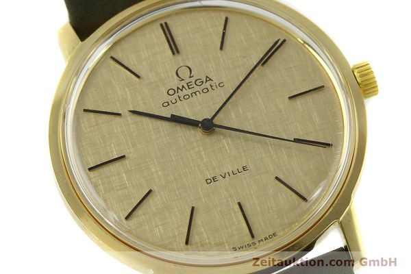 Used luxury watch Omega De Ville 18 ct gold automatic Kal. 711 Ref. 165.008  | 151061 02
