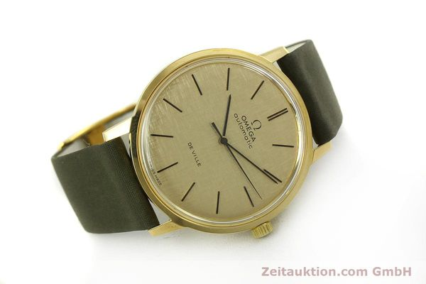 Used luxury watch Omega De Ville 18 ct gold automatic Kal. 711 Ref. 165.008  | 151061 03