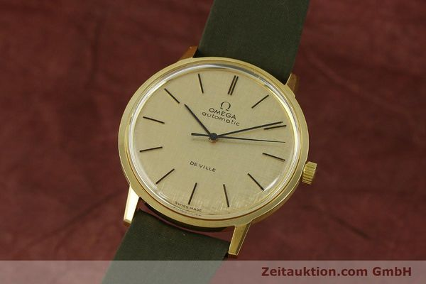 Used luxury watch Omega De Ville 18 ct gold automatic Kal. 711 Ref. 165.008  | 151061 04