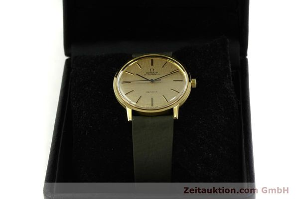 Used luxury watch Omega De Ville 18 ct gold automatic Kal. 711 Ref. 165.008  | 151061 07
