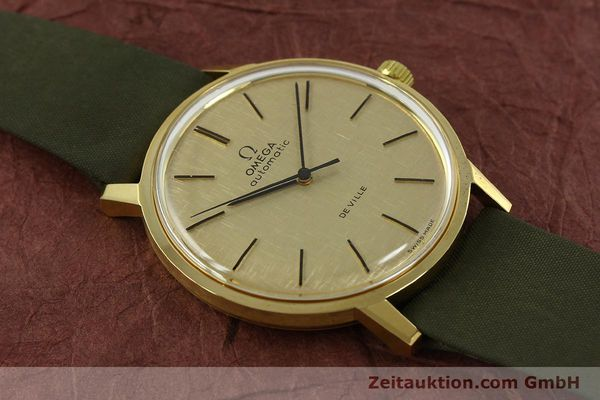 Used luxury watch Omega De Ville 18 ct gold automatic Kal. 711 Ref. 165.008  | 151061 14