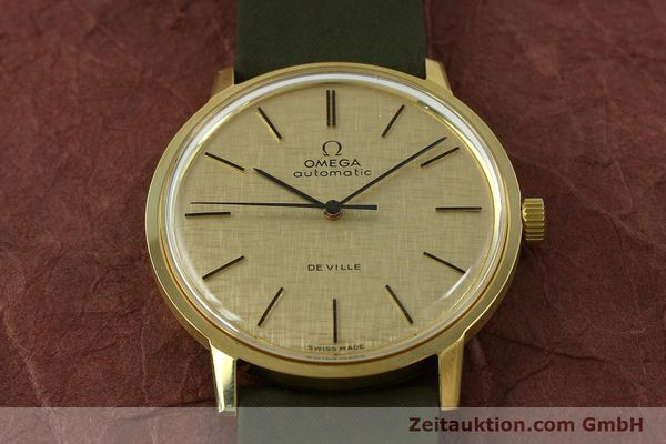 Used luxury watch Omega De Ville 18 ct gold automatic Kal. 711 Ref. 165.008  | 151061 15