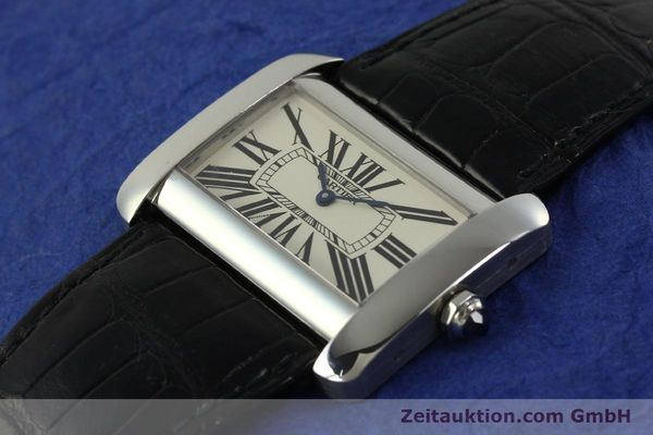 Used luxury watch Cartier Tank Divan steel quartz Kal. 690  | 151064 01