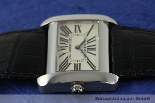 Used luxury watch Cartier Tank Divan steel quartz Kal. 690  | 151064 05