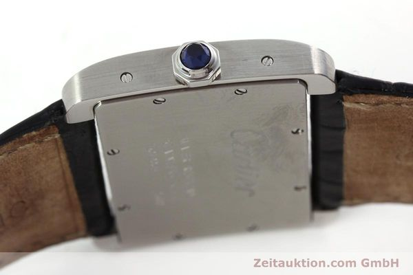 Used luxury watch Cartier Tank Divan steel quartz Kal. 690  | 151064 08