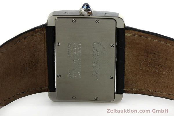 Used luxury watch Cartier Tank Divan steel quartz Kal. 690  | 151064 09