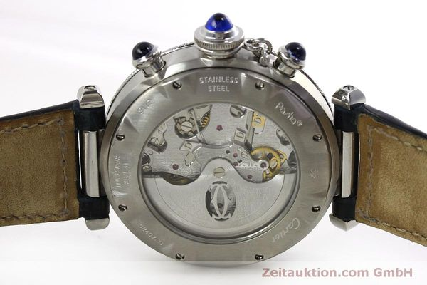 Used luxury watch Cartier Pasha chronograph steel automatic Kal. 205  | 151065 09