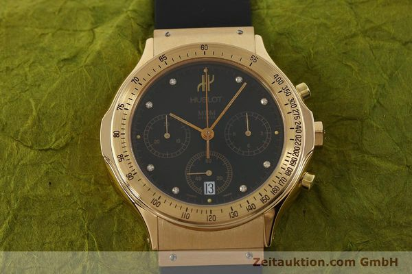 montre de luxe d occasion Hublot MDM chronographe or 18 ct quartz Kal. 1270 Ref. 1620.8  | 151066 15