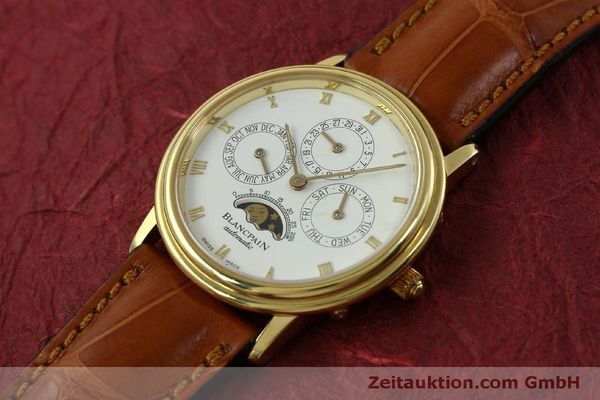 montre de luxe d occasion Blancpain Villeret or 18 ct automatique Kal. 95  | 151067 01