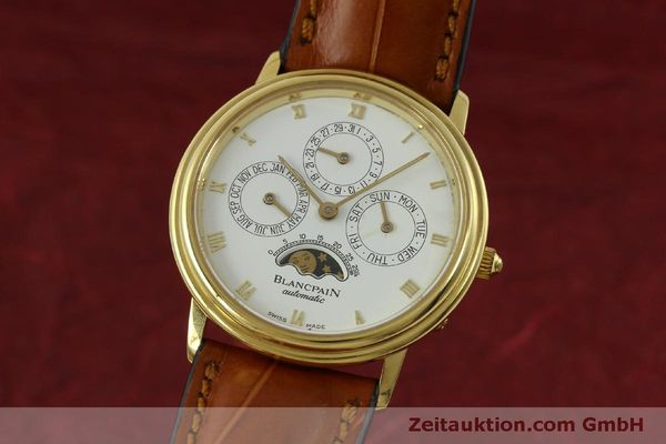 montre de luxe d occasion Blancpain Villeret or 18 ct automatique Kal. 95  | 151067 04