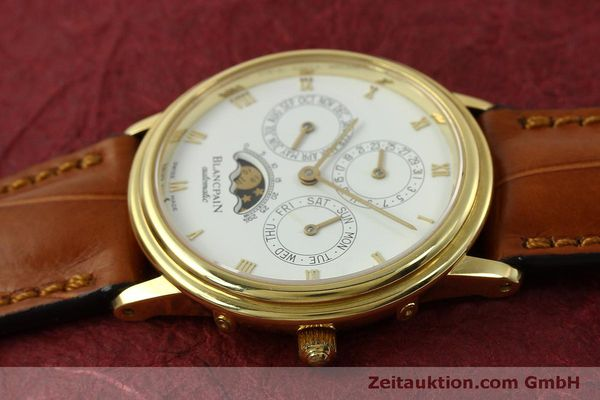 montre de luxe d occasion Blancpain Villeret or 18 ct automatique Kal. 95  | 151067 05
