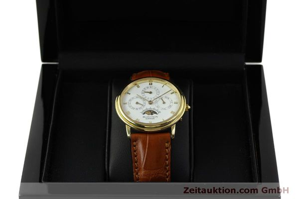 montre de luxe d occasion Blancpain Villeret or 18 ct automatique Kal. 95  | 151067 07
