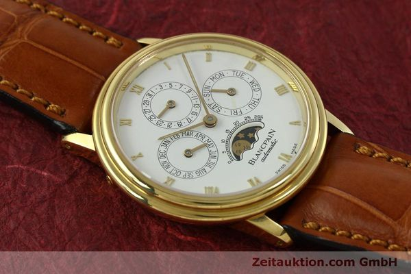 montre de luxe d occasion Blancpain Villeret or 18 ct automatique Kal. 95  | 151067 13
