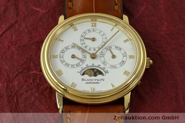 montre de luxe d occasion Blancpain Villeret or 18 ct automatique Kal. 95  | 151067 14
