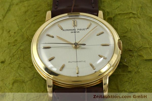 Used luxury watch Audemars Piguet * 18 ct gold automatic Kal. P 2499  | 151068 14