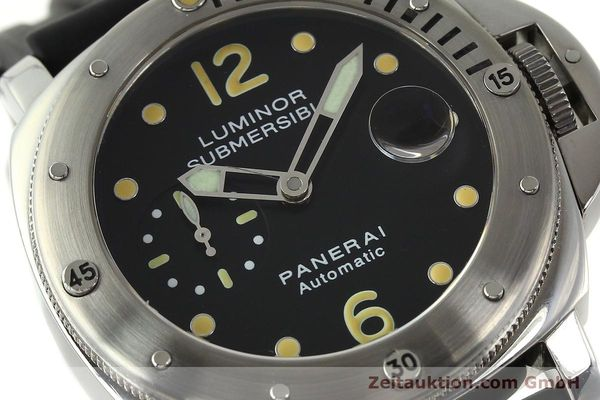 montre de luxe d occasion Panerai Luminor  acier automatique Kal. ETA AO5511 Ref. OP6561 LIMITED EDITION | 151070 02