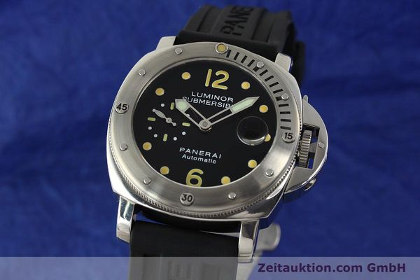 montre de luxe d occasion Panerai Luminor  acier automatique Kal. ETA AO5511 Ref. OP6561 LIMITED EDITION | 151070 04