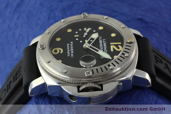 montre de luxe d occasion Panerai Luminor  acier automatique Kal. ETA AO5511 Ref. OP6561 LIMITED EDITION | 151070 05