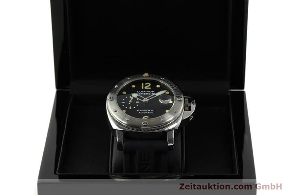 montre de luxe d occasion Panerai Luminor  acier automatique Kal. ETA AO5511 Ref. OP6561 LIMITED EDITION | 151070 07