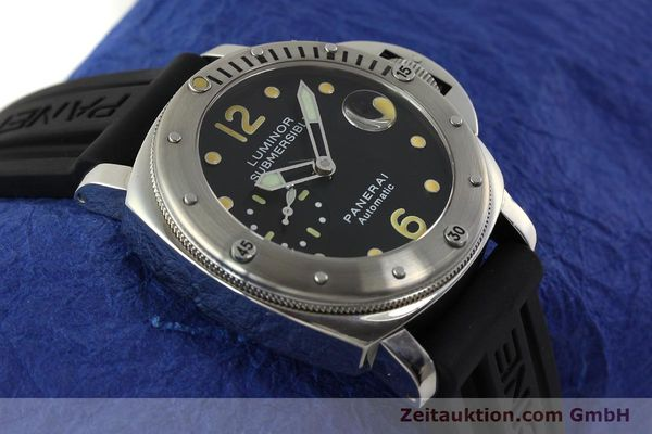 montre de luxe d occasion Panerai Luminor  acier automatique Kal. ETA AO5511 Ref. OP6561 LIMITED EDITION | 151070 14