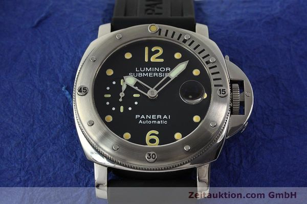 montre de luxe d occasion Panerai Luminor  acier automatique Kal. ETA AO5511 Ref. OP6561 LIMITED EDITION | 151070 15