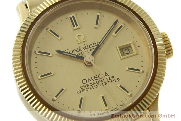 Used luxury watch Omega Constellation 18 ct gold automatic Kal. 685  | 151074 02