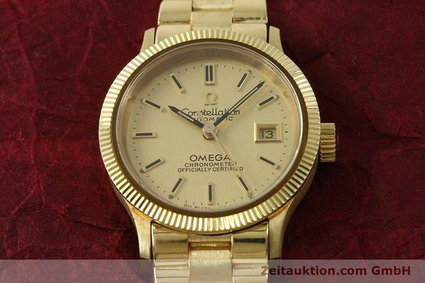 Used luxury watch Omega Constellation 18 ct gold automatic Kal. 685  | 151074 15