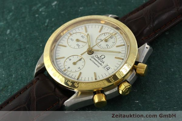 Used luxury watch Omega Speedmaster chronograph steel / gold automatic Kal. 1155  | 151084 01