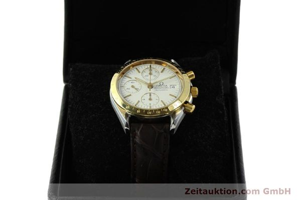 Used luxury watch Omega Speedmaster chronograph steel / gold automatic Kal. 1155  | 151084 07
