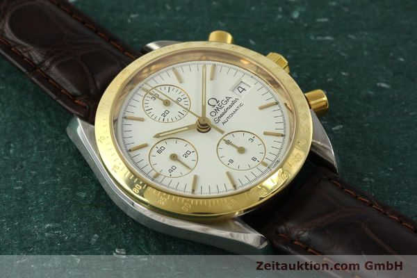 Used luxury watch Omega Speedmaster chronograph steel / gold automatic Kal. 1155  | 151084 13