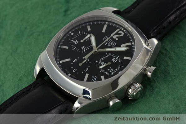 Used luxury watch Tag Heuer Monza chronograph steel automatic Kal. 17 ETA 2824-2 Ref. CR2110  | 151085 01