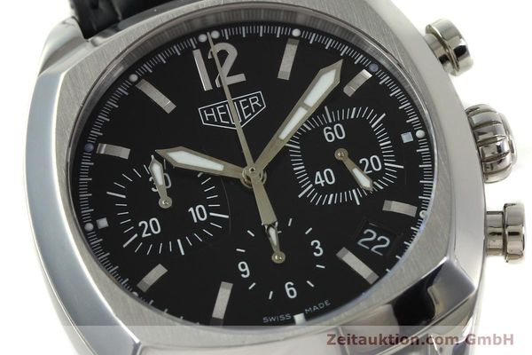 Used luxury watch Tag Heuer Monza chronograph steel automatic Kal. 17 ETA 2824-2 Ref. CR2110  | 151085 02