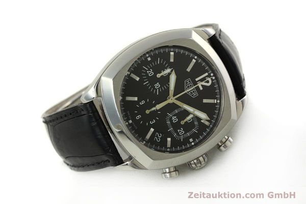 Used luxury watch Tag Heuer Monza chronograph steel automatic Kal. 17 ETA 2824-2 Ref. CR2110  | 151085 03