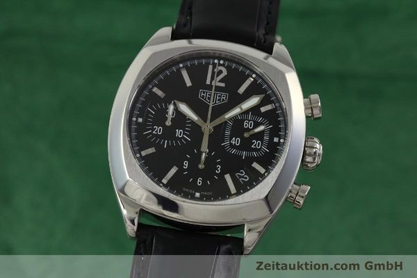 Used luxury watch Tag Heuer Monza chronograph steel automatic Kal. 17 ETA 2824-2 Ref. CR2110  | 151085 04