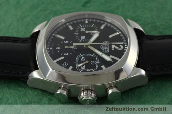 Used luxury watch Tag Heuer Monza chronograph steel automatic Kal. 17 ETA 2824-2 Ref. CR2110  | 151085 05