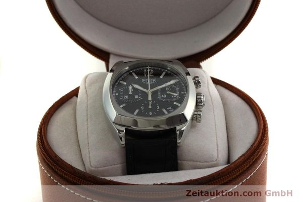 Used luxury watch Tag Heuer Monza chronograph steel automatic Kal. 17 ETA 2824-2 Ref. CR2110  | 151085 07