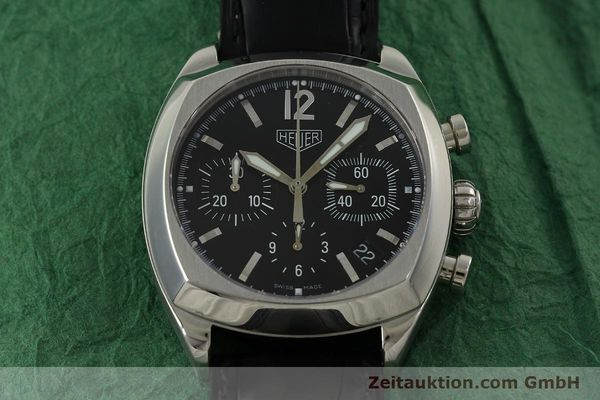 Used luxury watch Tag Heuer Monza chronograph steel automatic Kal. 17 ETA 2824-2 Ref. CR2110  | 151085 17