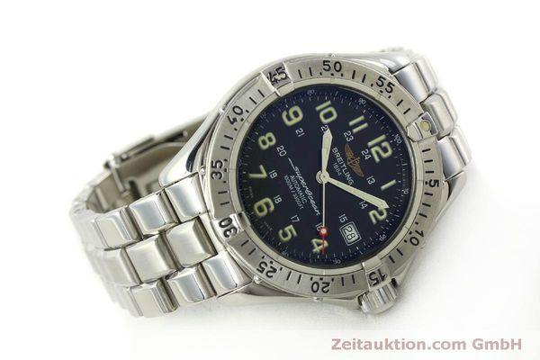 Used luxury watch Breitling Superocean steel automatic Kal. B17 ETA 2824-2 Ref. A17040  | 151090 03