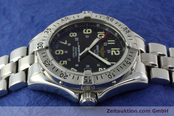 Used luxury watch Breitling Superocean steel automatic Kal. B17 ETA 2824-2 Ref. A17040  | 151090 05