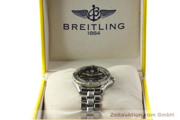 Used luxury watch Breitling Superocean steel automatic Kal. B17 ETA 2824-2 Ref. A17040  | 151090 07