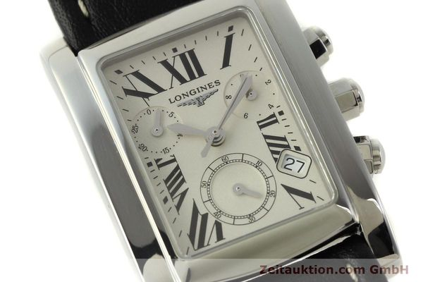 Used luxury watch Longines Dolce Vita chronograph steel quartz Kal. L.538.2 ETA 251.471  | 151091 02
