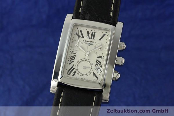 Used luxury watch Longines Dolce Vita chronograph steel quartz Kal. L.538.2 ETA 251.471  | 151091 04