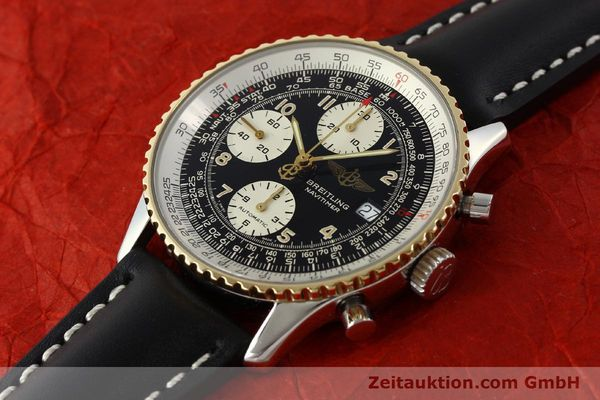 Used luxury watch Breitling Navitimer chronograph steel / gold automatic Kal. B13 ETA 7750 Ref. D13022  | 151092 01