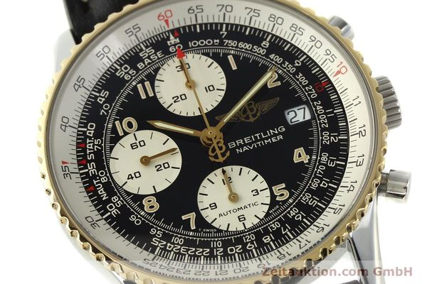 Used luxury watch Breitling Navitimer chronograph steel / gold automatic Kal. B13 ETA 7750 Ref. D13022  | 151092 02