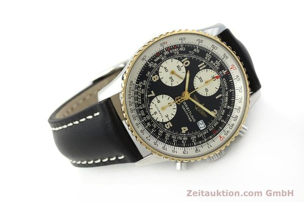 Used luxury watch Breitling Navitimer chronograph steel / gold automatic Kal. B13 ETA 7750 Ref. D13022  | 151092 03
