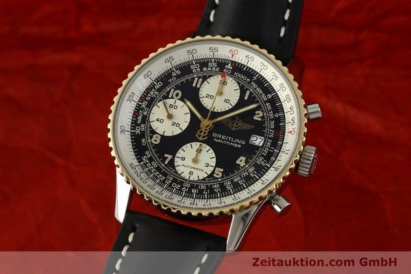 Used luxury watch Breitling Navitimer chronograph steel / gold automatic Kal. B13 ETA 7750 Ref. D13022  | 151092 04